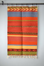 Colorful Striped Kilim Rug by Yuba Mercantile