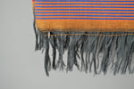 Bold Striped Throw Blanket Fringe by Yuba Mercantile