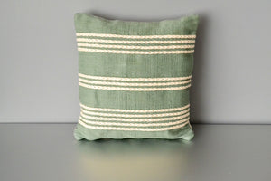 Green Meadow Cotton Pillow by Yuba Mercantile