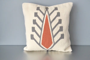Ivory Cyprus Wool Throw Pillow by Yuba Mercantile