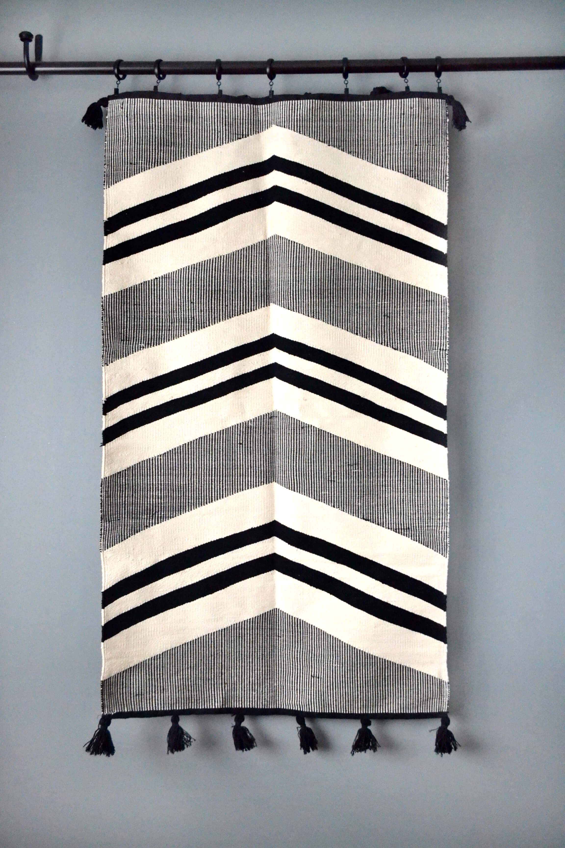 Valley Egyptian Cotton Kilim Rug by Yuba Mercantile