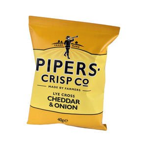 Pipers Crisp cheddar onion
