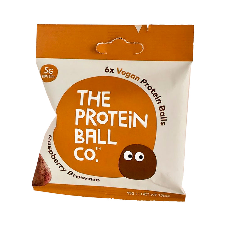 Protein ball vadelma brownie proteiini