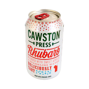 Cawston Press rhubarb raparperi limonadi