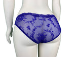 Women's See-Through Embroidery Lace Design Panty