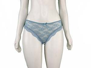 Casual Embroidery Lace Panty