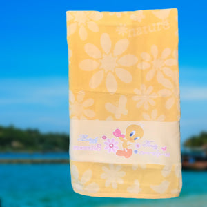 TWEETY CHILDREN'S BATH TOWEL SET - COTTONISH