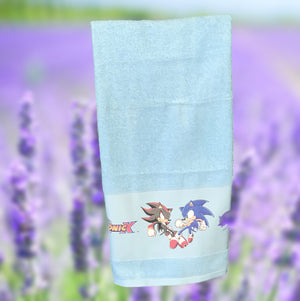 SONIC X TOON BATH TOWEL SET - COTTONISH