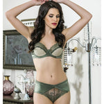 LACE BRA AND PANTY SUIT - COTTONISH