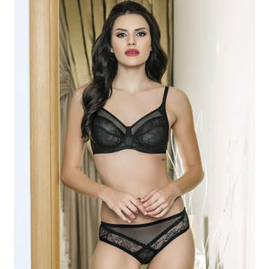 MINIMIZER BRA & PANTIES SUIT - COTTONISH