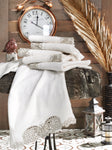 TURKISH BAMBOO LUXURY TOWEL WITH BUTTERFLY EMBROIDERY - COTTONISH