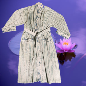 KIMONO BATHROBE POOL-BEACH TOWEL - COTTONISH