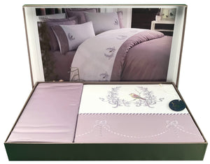 Cream Colour 6 PCS Bed Set