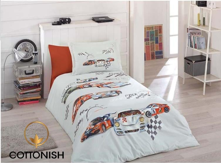 CARLO BOY'S TEENAGES BEDDING SET - COTTONISH