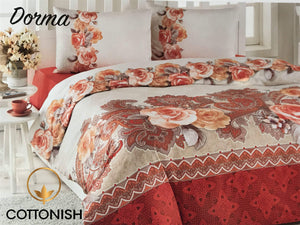 DORMA DOUBLE BEDDING SET - COTTONISH