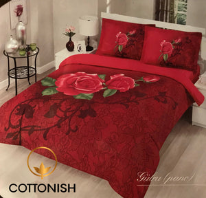 SINGLE BEDDING SET - COTTONISH