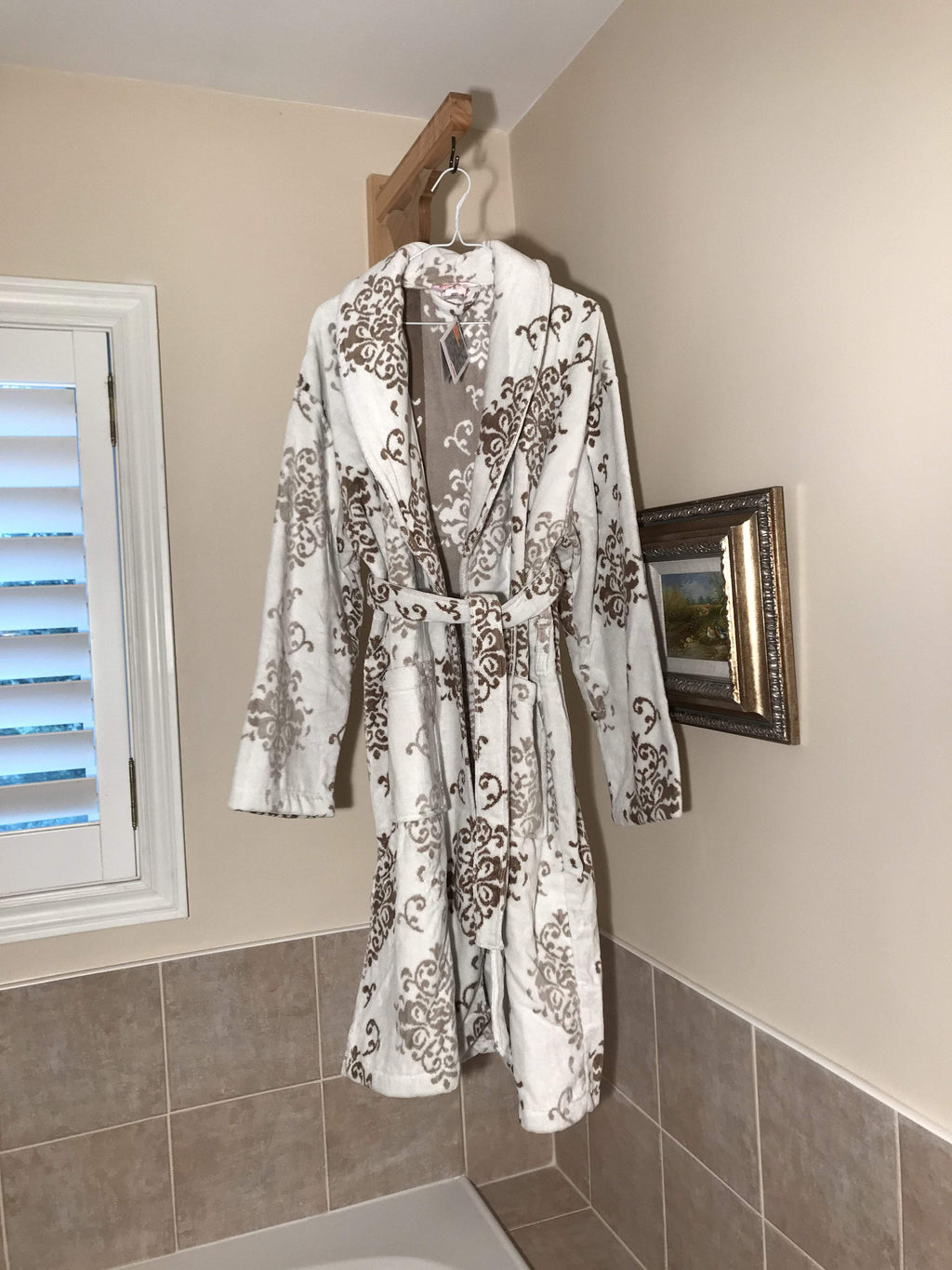 BATHROBE TOWEL - COTTONISH