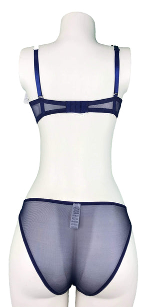 Push-up Bra & Panty Set with Removable piece