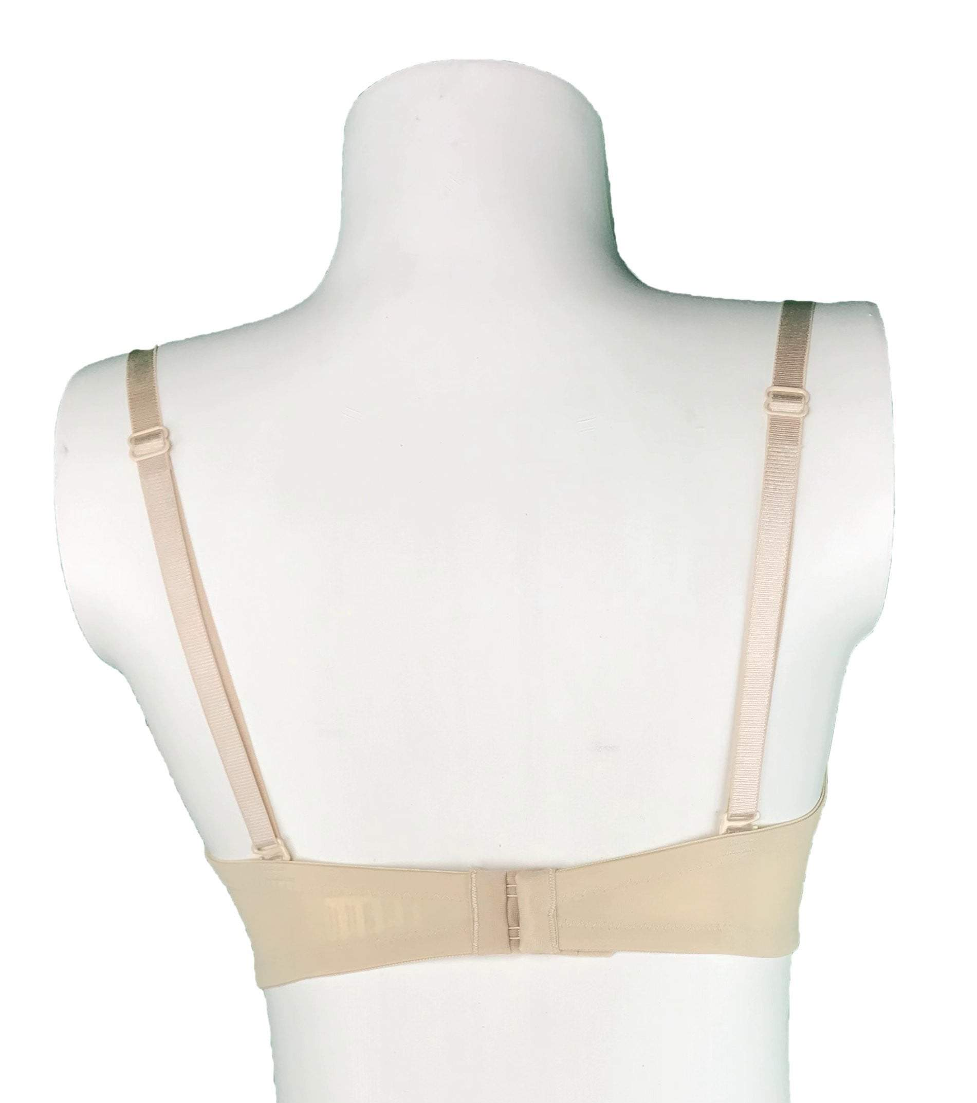 Padded Bra with Removable Straps