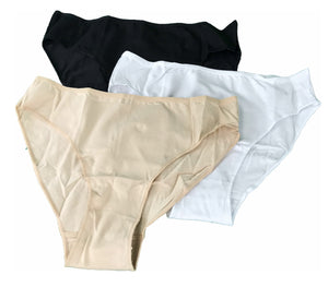 3 in 1 Mid-waist Seam-less Panty