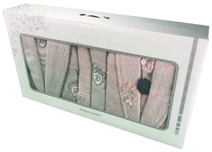 NILUFER Couple Towel Set