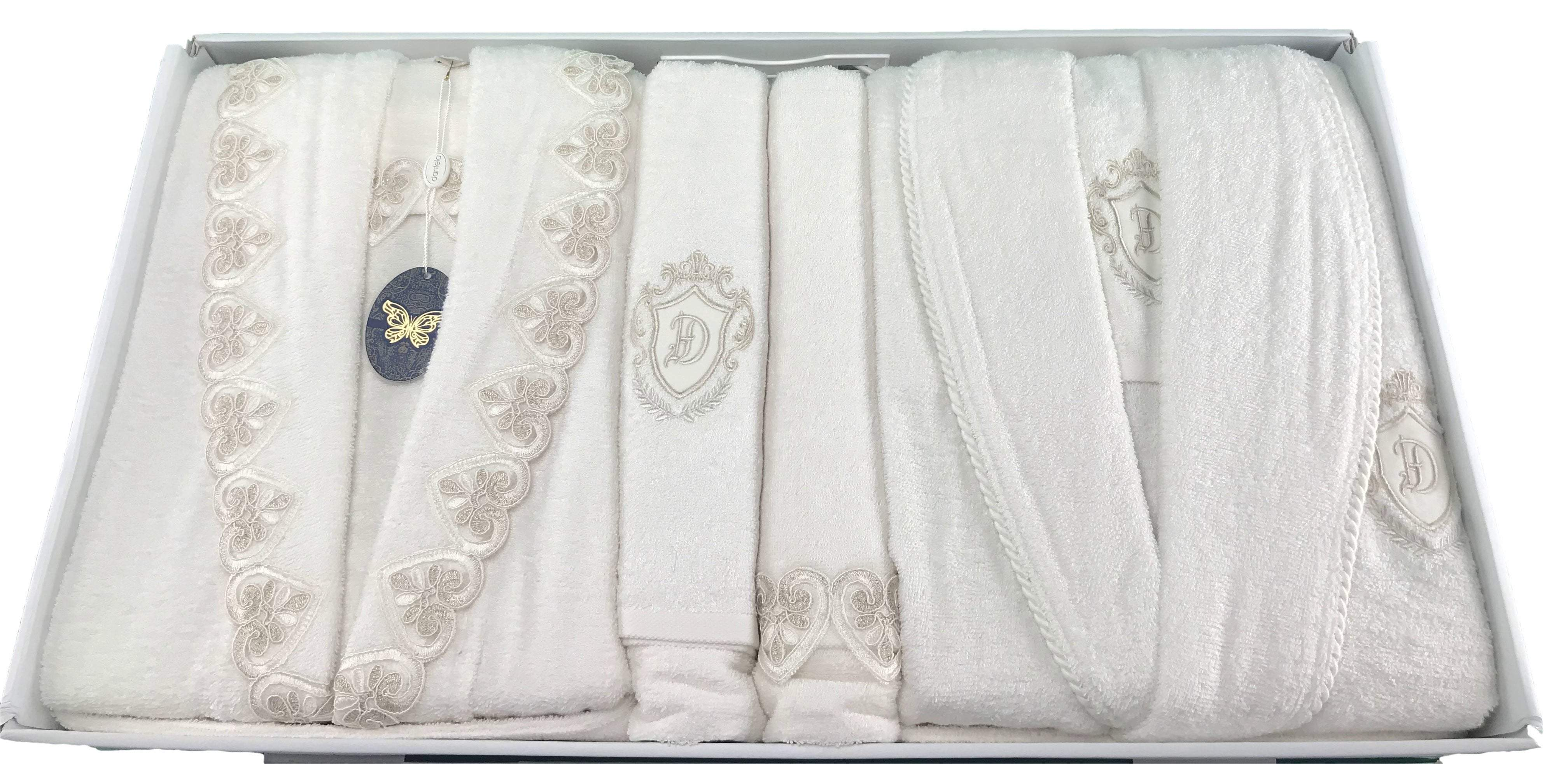LOVE Bridal Towel Set