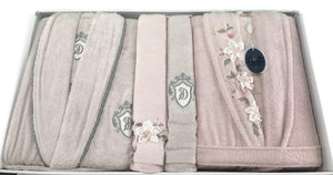 MANOLYA Bathrobe Set