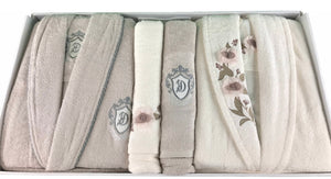 SUDE Couple Towel Set