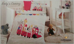 BABY'S COMING BEDDING SET - COTTONISH