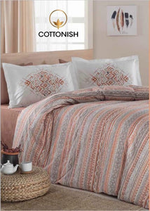 EVONY DOUBLE BEDDING SET - COTTONISH