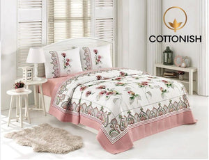 FIORE DOUBLE BEDDING SET - COTTONISH