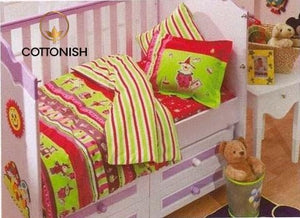 HAPPY KIDS BIRTHDAY COLORFUL BEDDING SET - COTTONISH