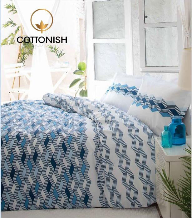 MATHIS DOUBLE BEDDING SET - COTTONISH