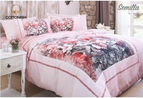 SEMILLA DOUBLE BEDDING SET - COTTONISH