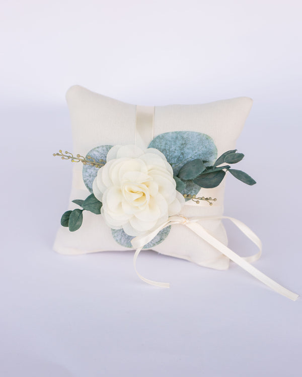 Ari | Garden Wedding Inspired Ring Bearer Pillow