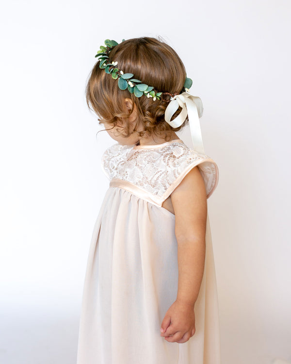 Isla | Frosted Eucalyptus Crown