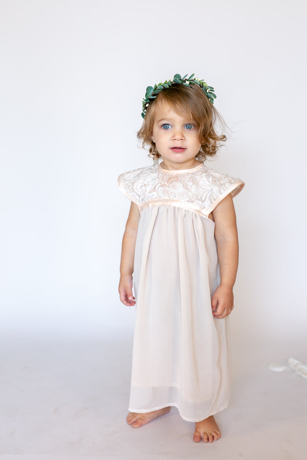 Eucalyptus Greenery Flower Crown | Flower Girl Halo or Hairpiece by Ragga Wedding