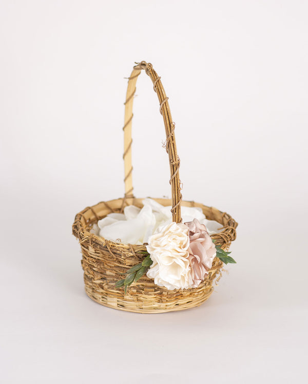 Lark | Vine Flower Girl Basket