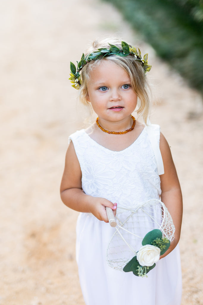 Gemma: Italian Inspired Flower Crown / Tiara Alternative