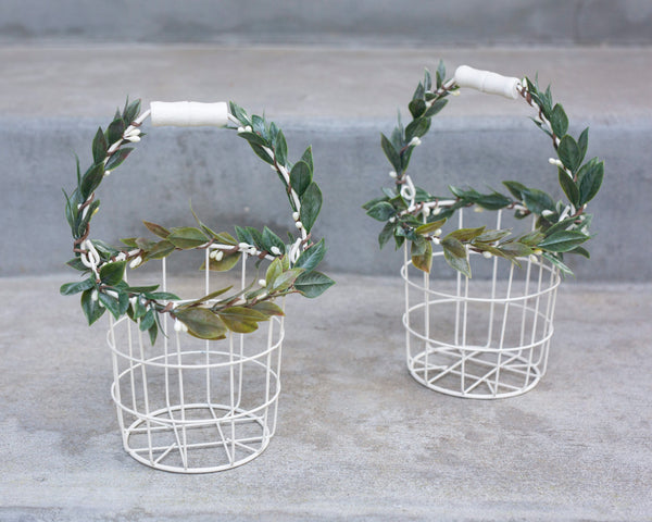 Eleanor: Flower Girl Basket