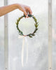 Flower Girl Greenery Halo | Simple, Woodland Flower Crown by Ragga Wedding
