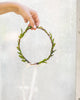 Lyric: Whimsical Tea Leaf Greenery Crown