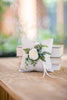 Harper & Leland | Flower Girl Basket and Ring Pillow Matching Set