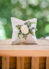 Modern Wedding Ring Pillow | Handmade Ring Cushions by Ragga Wedding