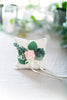 Blush Floral and Eucalyptus Greenery Ring Pillow | Blush Wedding | Wedding Ring Cushion by Ragga Wedding
