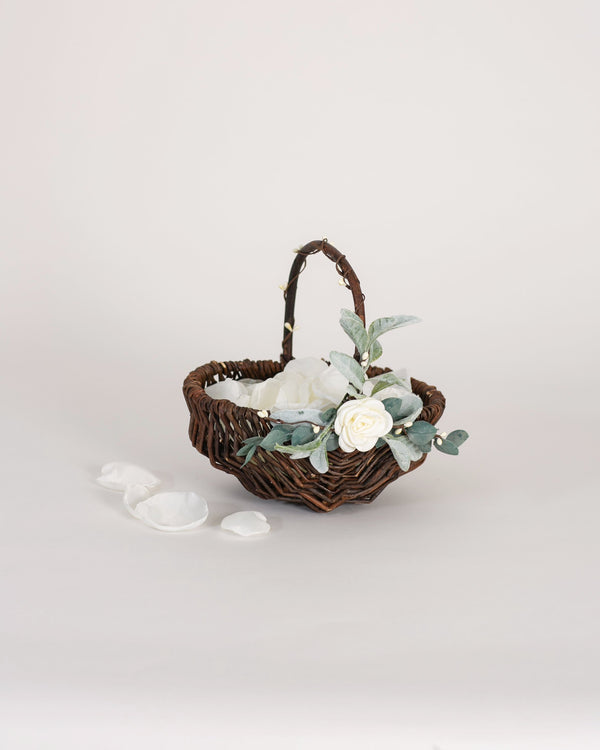 Grace | Willow Flower Girl Basket