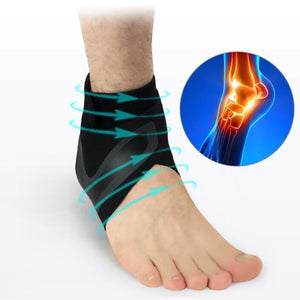 Ankle Support Brace Elasticity Free Adjustment Protection Bandage