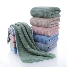 Load image into Gallery viewer, Large Flannel Warm Soft Bath Shower Towel Set