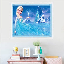 Load image into Gallery viewer, Cartoon Diamond Painting 5D DIY Diamond Embroidery Frozen Elsa Children Decor Gift
