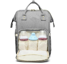 Load image into Gallery viewer, Waterproof USB Diaper Bag Baby Care Large Capacity Mom Backpack